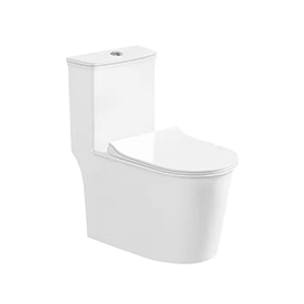 One-piece Toilet 双孔超式漩式 连体坐便器2927