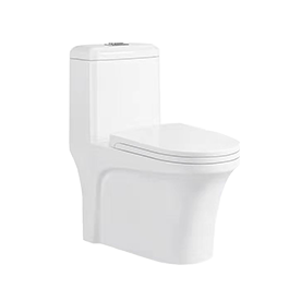 One-piece Toilet 双孔超式漩式 连体坐便器
